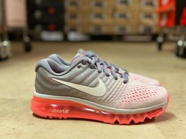 Nike Air Max 2017 Womens Running Shoes Grey/Pink/White 849560-007 Pre-Owned Sz 7 - $144.99