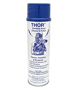 18 Oz. Thor Stainless Steel Cleaner & Polish 1 Can: Clean and Polish Sta... - $34.88
