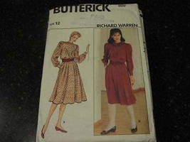 Uncut Vintage Butterick Sewing Pattern Top Skirt 4602 12 - $4.84