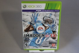 Madden NFL 13 Microsoft Xbox 360 2013 Kinect Compatible Collector FREE S... - $11.83