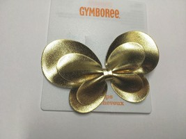 Gymboree Butterfly Girl Spice Barrette Clip Snap NWT Gold Color Girl Cute A Must - $12.95