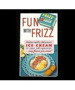 Ice Cream 1947 Fun with Frizz Makes Delicious ICE CREAM Recipe Advertisi... - $14.99