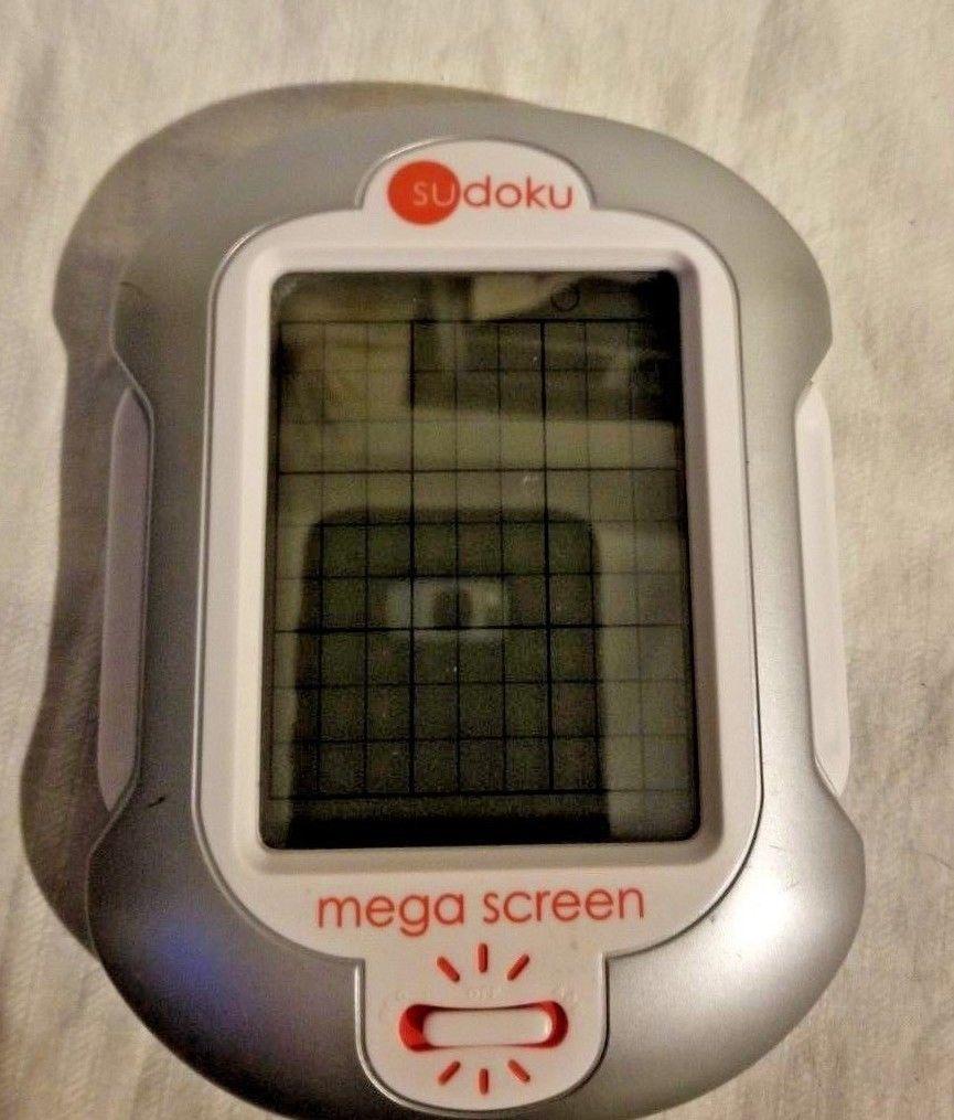 Sudoku Mega Screen Lighted Handheld Electronic Game With Stylus..Free Shipping image 2