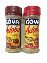 Goya Adobo Seasoning, (1) Con Pique Hot & (1) Original with Pepper, 8 oz... - $14.84