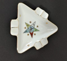 Vintage Lefton China Ashtray Collectible Tobacciana Hand Painted Marked ... - $8.99