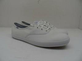 Keds Women's Champion Originals Leather Lace Up Casual Shoe White Size 7.5M - $52.24