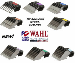 WAHL STAINLESS STEEL Attachment GUIDE CLIP ON COMB Fit Many Andis,Oster ... - $7.41+