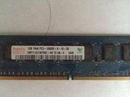 Hynix PC3-10600E 1GB Ecc 1RX8 HMT112U7TFR8C-H9 - $11.87