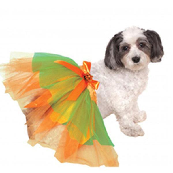 Pumpkin Dog Tutu Halloween Costume