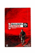 Clif Bar Builder's Protein Bars, Chocolate, 12 ct - $50.55