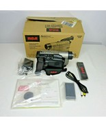 New 2001 RCA VHS Camcorder CC6364 400X Digital Zoom Auto Shot Complete O... - $148.45
