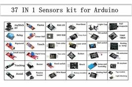Geekcreit® 37 In 1 Sensor Module Board Set Kit For Arduino - $15.85