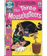 Super DC Giant Comic Book #18 The Three Mouseketeers DC Comics 1970 FINE... - $34.75