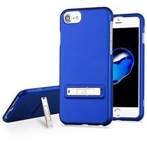 For APPLE iPhone 8/7 Titanium Dark Blue Sidekik with Kickstand Case Cover - $12.23