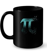 Pi Shattered Teal Designer Pi Day Gift Coffee Mug - $18.56 CAD+
