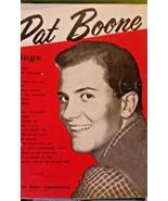 PAT BOONE SINGS - Vintage 1957 Song Music Book - 22 spmgs - $9.99