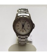 Nice Vintage Guess Waterpro Lady 50m Steel Analog Quartz Watch Hours~New Battery - $4.99