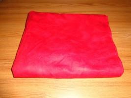 "Flannel Red Swirl 2 Yards (72"") (Read Description) - $10.85"