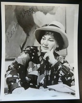 BELLA  ABZUG AUTOGRAPH / SIGNATURE ~ Signed Vintage 8 x 10 B/W Photograph - $39.95