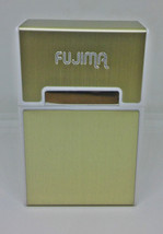 Fujima Gold Plastic Aluminum Covered King Size Cigarette Case - $7.91