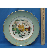 Vintage 1980 Enoch Wedgwood Collectors Plate Avon Country Christmas Village - $6.92