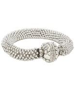 Designer Tibetan Silver Statement Bracelet - $36.00