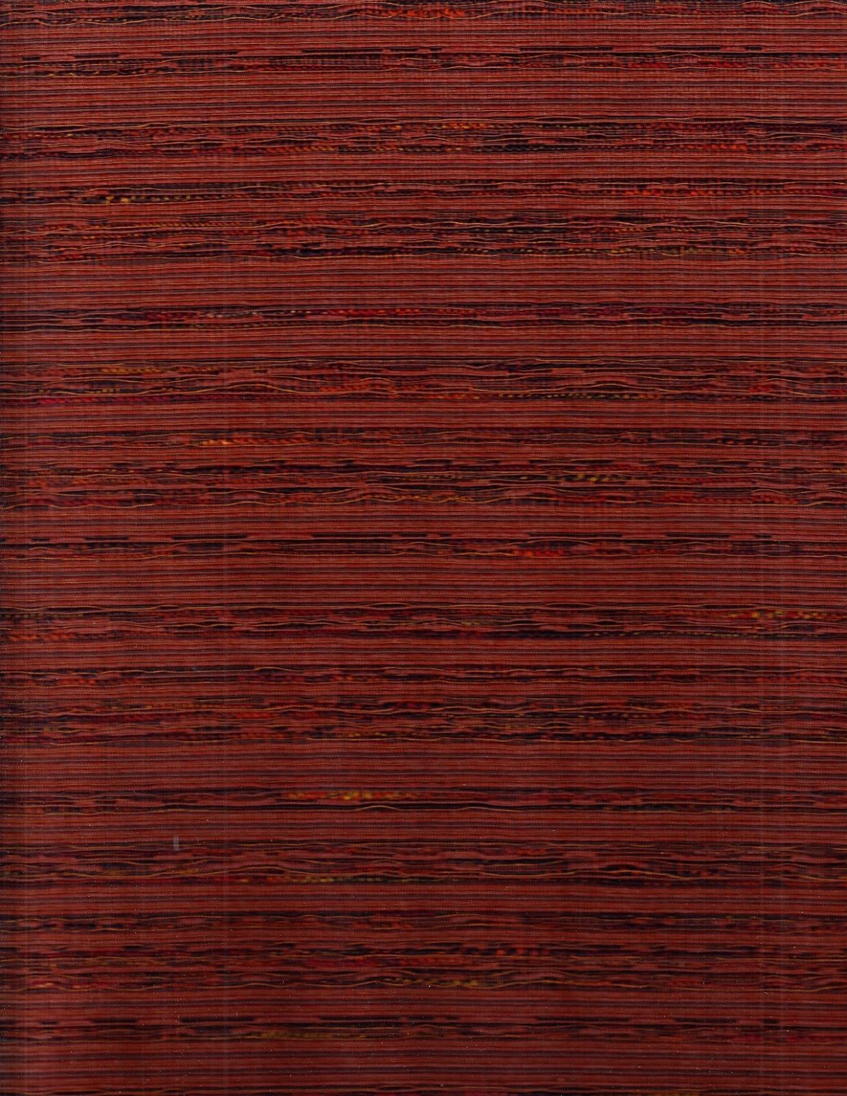 12.125y Mid Century Modern Upholstery Fabric Ad Men Tweed Stripe Salmon CW1-c12*