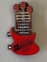 Hard Rock Cafe HRC Ambassadors of Rock All Is One Guitar 2007 Pin Limited Ed - $15.85