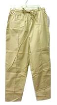 Scrub Pants Premier Uniforms Tan Large Elastic Drawstring Bottoms Women'... - $13.55