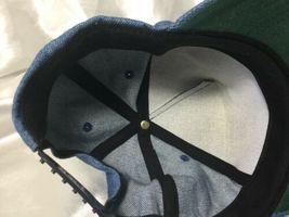 Vintage Denim Modern Welding Co. Cloth SnapBack Hat Cap Made In USA image 8