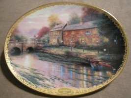 LAMPLIGHT INN collector plate THOMAS KINKADE Lamplight Village - $19.99