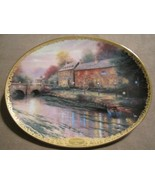 LAMPLIGHT INN collector plate THOMAS KINKADE Lamplight Village - $19.99