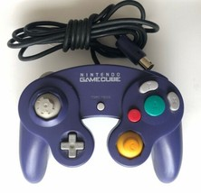 OFFICIAL Nintendo GameCube Indigo Purple Controller DOL-003 WORKS Missin... - $22.99