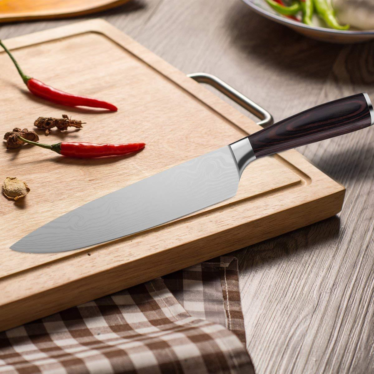 Ordekcity 8 Inch Chef's Knife High Carbon Stainless Steel  w/ GIft Box  image 6