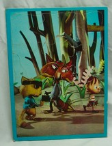 Antique 1960's The New Adventures of Pinocchio FRAME TRAY PUZZLE Foxy Q.... - $19.80