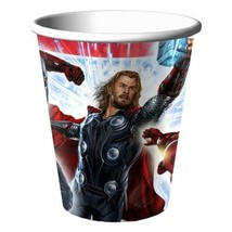 The Avengers Beverage Cups 9 oz Paper 8 Per Package Birthday Party Suppl... - $3.71