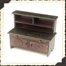 """Boyds Collection -Accessory """"Emily's Kitchen Cabinet""""- #654850- Wooden -New - $29.99"""