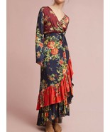 Anthropologie Farm Rio Audrey Wrap Dress $228 Sz XS, XSP - NWT - $195.49
