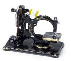 Dollhouse Miniature Sewing Machine, Old Fashioned #MA2259 - $9.05