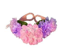 1 Pair Of Colourful Peony Beach Bracelets Lace Bracelets Jewelry