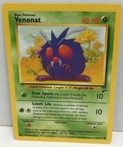 Venonat Pokemon Card 97/130 Wizards TCG Original Base Set 2 NM Great Con... - $2.54