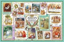 *1000 piece jigsaw puzzle Alice in Wonderland Tenniel collection (50x75cm) - $206.25