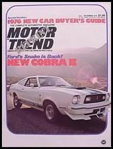 1976 Ford Cobra II Brochure - $12.55
