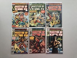 Lot of 6 Master of Kung Fu (1974) #22 24 43 50 55 67 Ave FN - $29.70