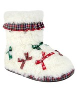 Ugly Christmas Slippers Women's Light-Up House Booties, M 7/8 - $21.05