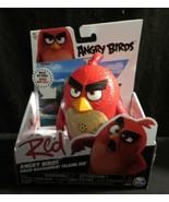 "Red Angry Birds Anger Management Talking Red 5"" action figure Spin Maste... - $24.69"