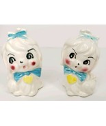 Vintage Maltese Precious Pooch Salt And Pepper Shakers - $15.00