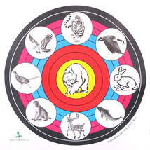 40X40cm Archery Target Paper For Outdoor Sport Archery Bow Hunting Shoot... - $7.30