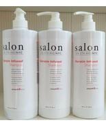 Salon On 5th Ave NYC Keratin Infused Shampoo 32 oz Jumbo Family Size Lot... - $28.71