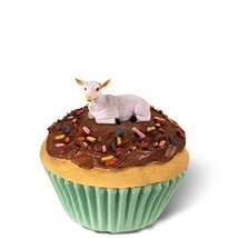 Conversation Concepts Goat White Cupcake Trinket Box - $19.99